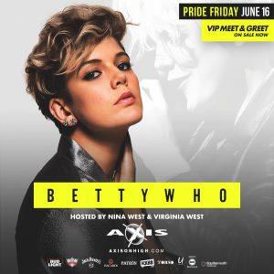 Pride Friday: Betty Who and the Torso Swimwear Fashion Show @ Axis Nightclub
