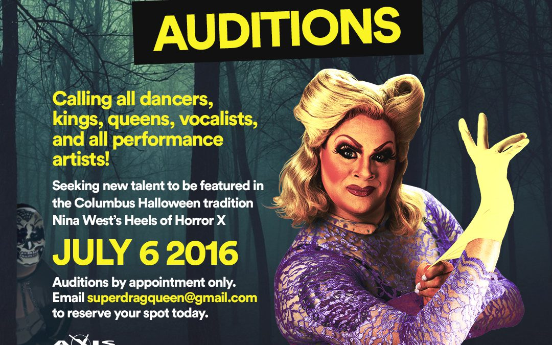 Heels of Horror X Auditions