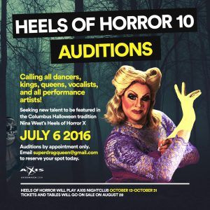 Heels of Horror X Auditions @ Axis Nightclub