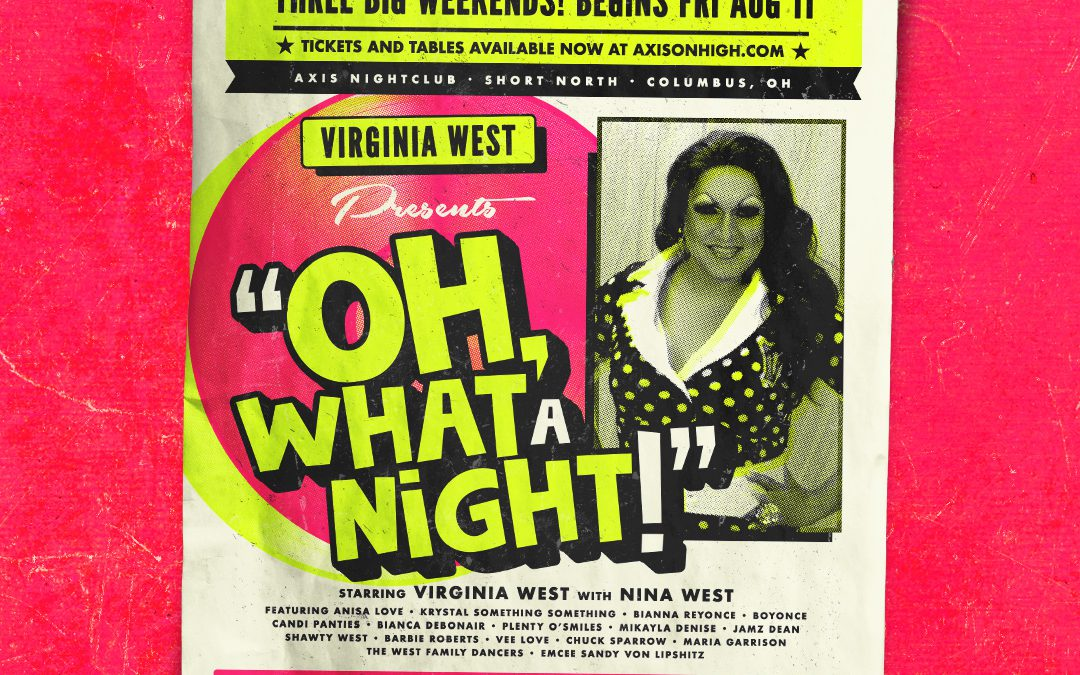 Virginia West's OH, WHAT A NIGHT!