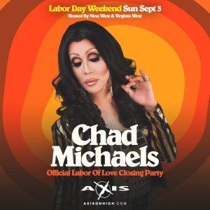 Chad Michaels of RuPaul's Drag Race All Stars @ Axis Nightclub