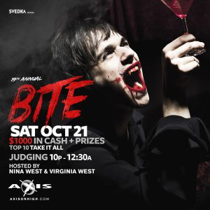 Bite! Axis' Annual Halloween Costume Ball @ Axis Nightclub