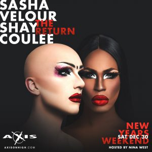 Sasha Velour and Shea Coulee: The Return @ Axis Nightclub