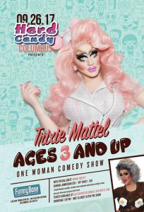 """Trixie Mattel """"Ages 3 and Up"""" at Funnybone Columbus @ Funnybone Columbus"""