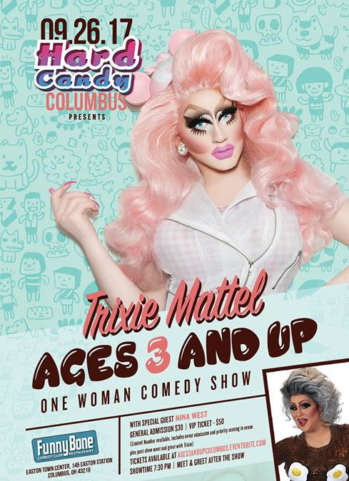 """Trixie Mattel """"Ages 3 and Up"""" at Funnybone Columbus"""