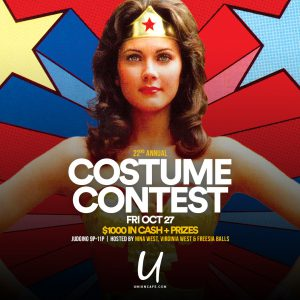 Union's Halloween Costume Contest @ Union Cafe