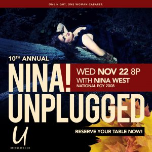 Nina! Unplugged @ Union Cafe