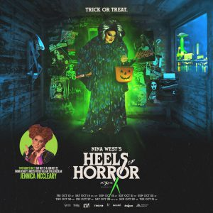Nina West's Heels of Horror with guest JENNICA MCCLEARY @ Axis