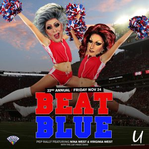 Beat Blue Pep Rally @ Union Cafe