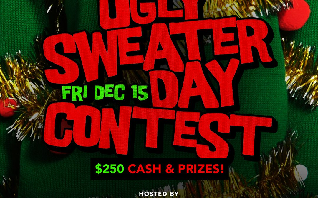 National Ugly Sweater Day Party and Contest