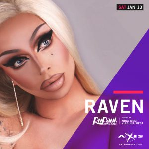 The Return of RAVEN @ Axis