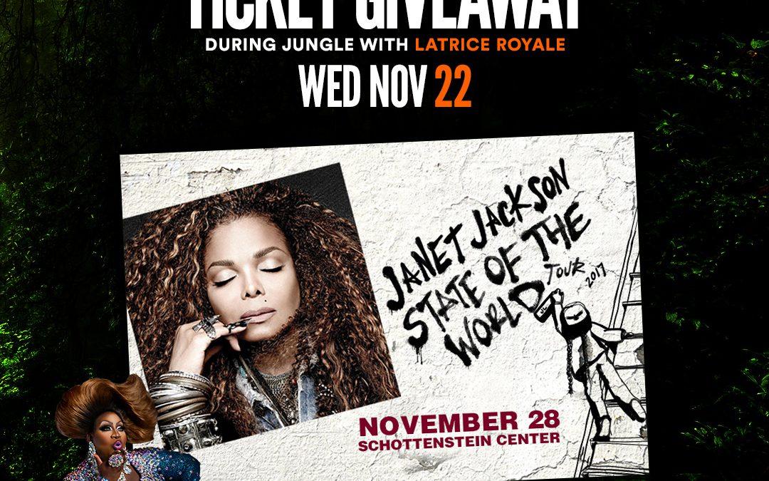 Janet Jackson Ticket Giveaway