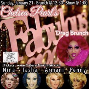 Chelsea Pearl's Fabulous Drag Brunch @ The Cabaret Cincinnati