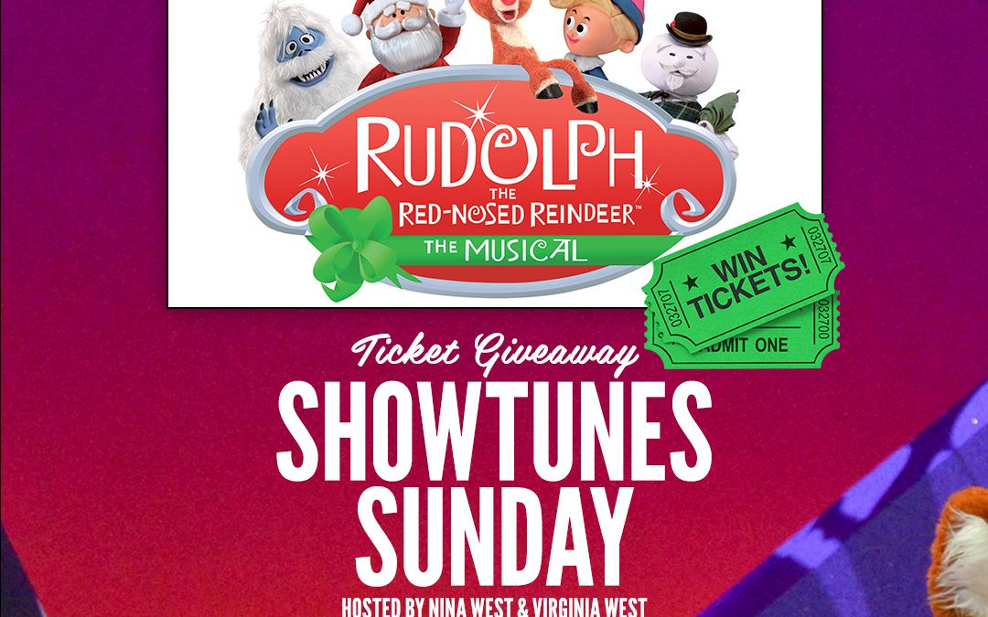 Rudolph the Red Nosed Reindeer the Musical Ticket Giveaway