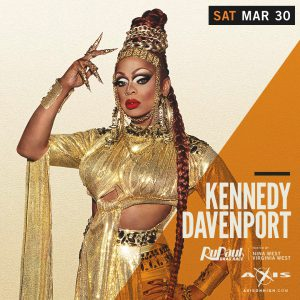 The Return of Kennedy Davenport @ Axis Nightclub