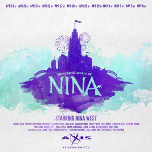 The Wonderful World of Nina @ Axis Nightclub