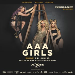 Columbus Pride Friday: The AAA Girls @ Axis Nightclub