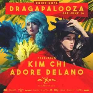Columbus Pride Saturday: Dragapalooza @ Axis Nightclub