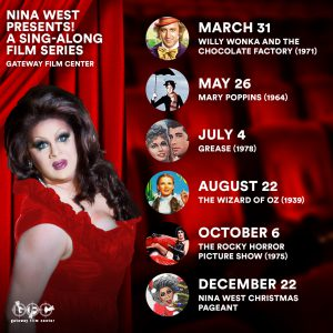 Nina West Presents...A Sing Along Series: The Wizard of OZ @ Gateway Film Center