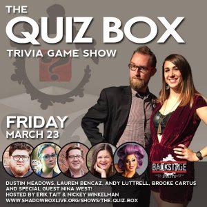 The Quiz Box @ Backstage Bistro