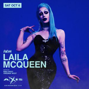 Laila McQueen of RDR8 @ Axis Nightclub
