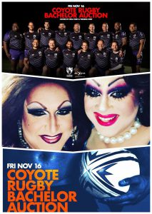 The Columbus Coyote Rugby Auction @ Axis